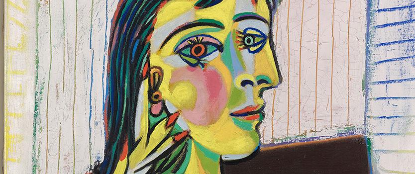"""Pablo Picasso """"Ritratto di Dora Maar"""", 1937(Parigi, Museo Picasso"""